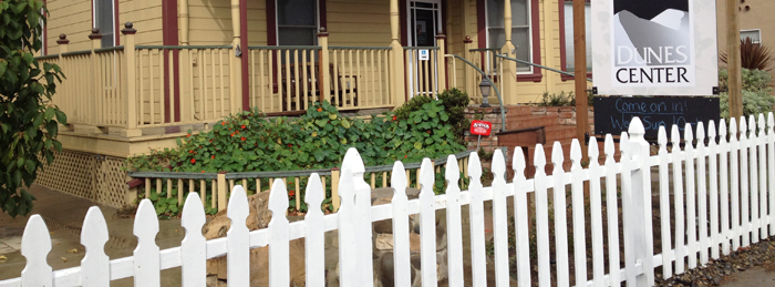 DC with freshly painted fence700x260