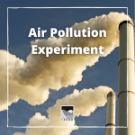Learn to measure pollution levels using items from around the house with today's activity!