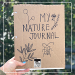 Create your very own nature journal with a few household items using the instructions in this activity!