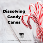 Celebrate the holidays with this fun science experiment! Watch as four different substances dissolve candy canes at different speeds, and make predictions about which substance you think will dissolve the candy canes the fastest!
