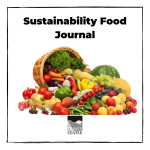 Do you know if the food you eat is good or bad for the environment? Some of the foods we eat are not sustainable and can actually cause damage to the environment. Create your own food journal to track what you eat!