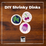 Learn how to recycle at home with this cute and creative shrunken plastic craft!