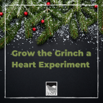 With the Holidays around the corner enjoy this fun holiday experiment. Help grow the Grinch's heart by three sizes! Use simple at home ingredients to create this experiment!