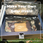 Make your own solar powered oven!